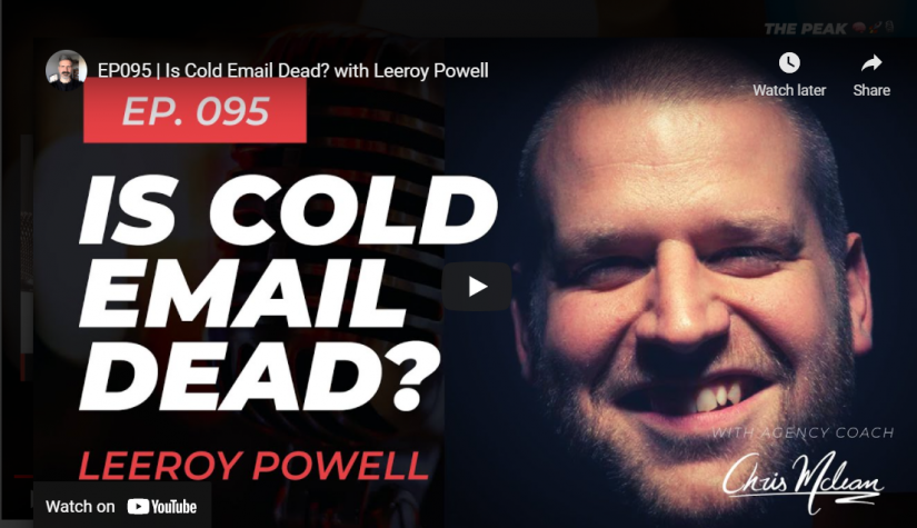 Is B2B Cold Email Dead? (Interview With Chris McLean)